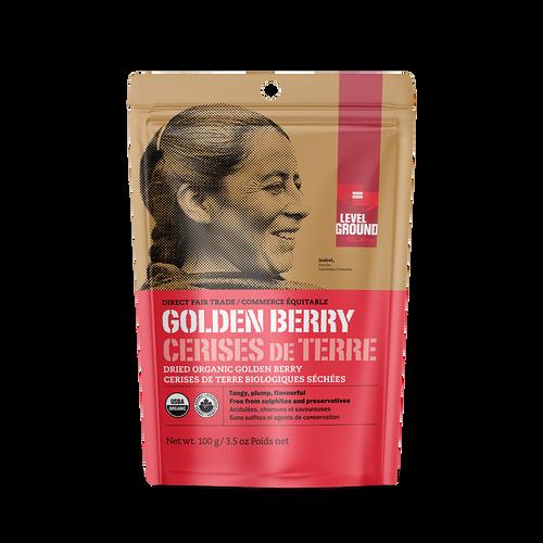 Level Ground Dried Golden Berries - FINAL SALE BB JUN 30