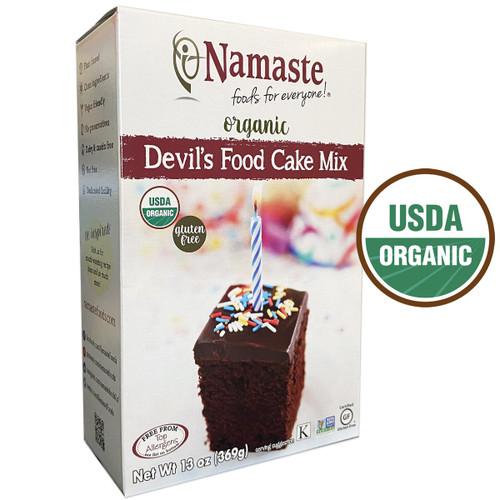 Namaste Organic Devil's Food Cake Mix - FINAL SALE BB JUN 30
