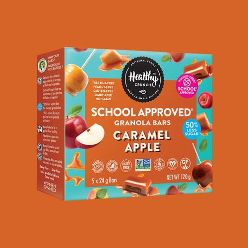 Healthy Crunch Caramel Apple Granola Bars