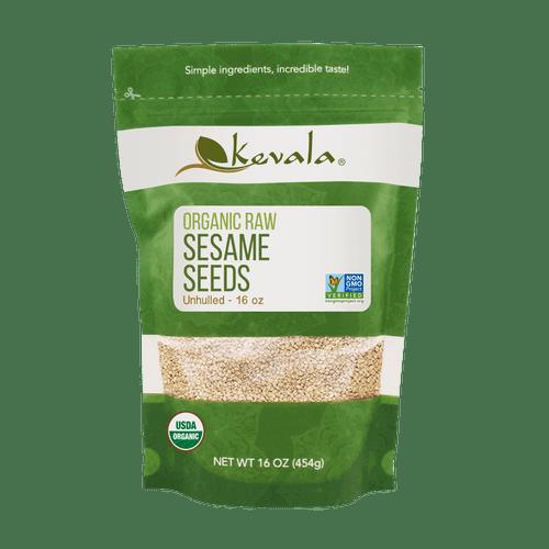 Kevala Organic Raw Sesame Seeds - FINAL SALE BB SEPT 30