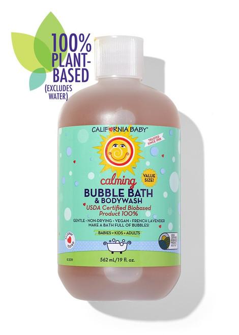 California Baby Calming Bubble Bath & Bodywash 19oz