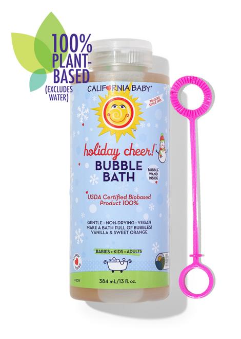 California Baby Holiday Cheer Bubble Bath