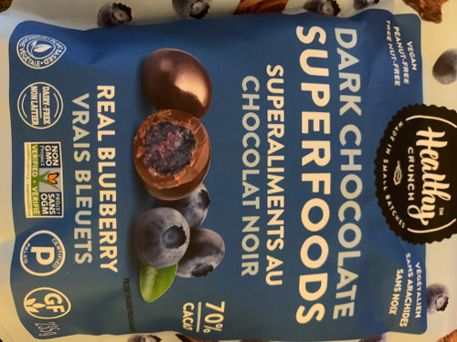 Dark Chocolate Superfoods - Real Blueberry