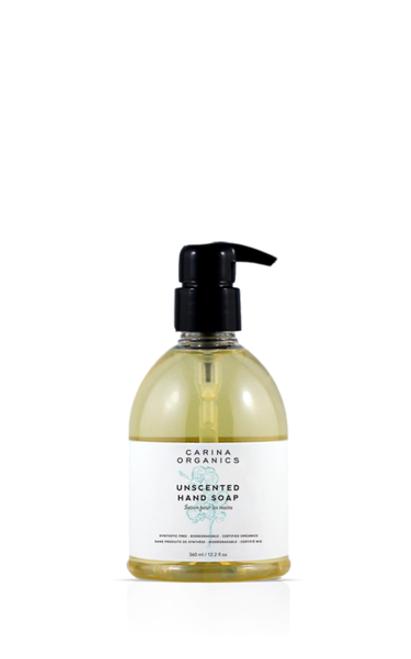 Carina Organics Unscented Hand Soap - DISCONTINUED PRODUCT