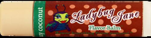 Ladybug Jane Healing Lip Balm - Coconut