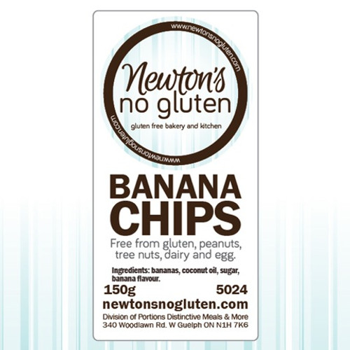 Newton's No Gluten Banana Chips