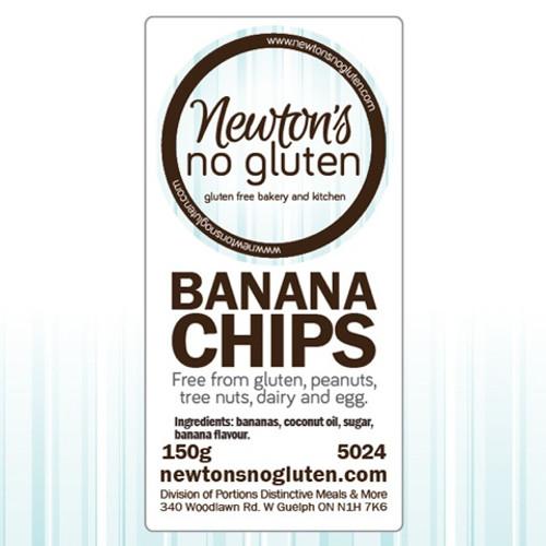 Newton's No Gluten Banana Chips