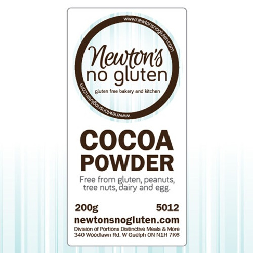 Newton's No Gluten Cocoa Powder