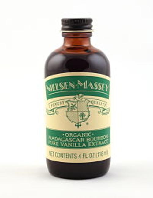 Nielsen Massey Organic Fairtrade Madagascar Bourbon Pure Vanilla Extract