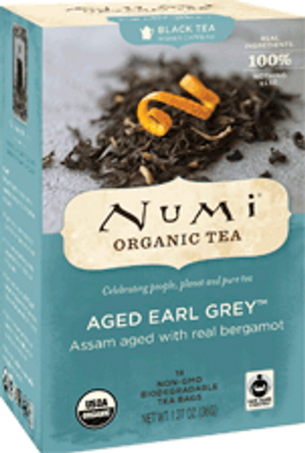 Numi Organic Bagged Tea - Aged Earl Grey