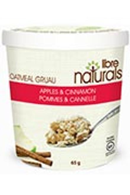 Libre Naturals Individual Oatmeal Cups - Apple Cinnamon