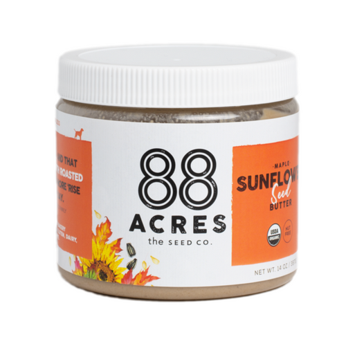 88 Acres Maple Roasted Sunflower Seed Butter