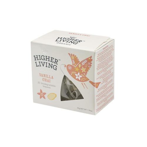 Higher Living Organic Vanilla Chai Tea