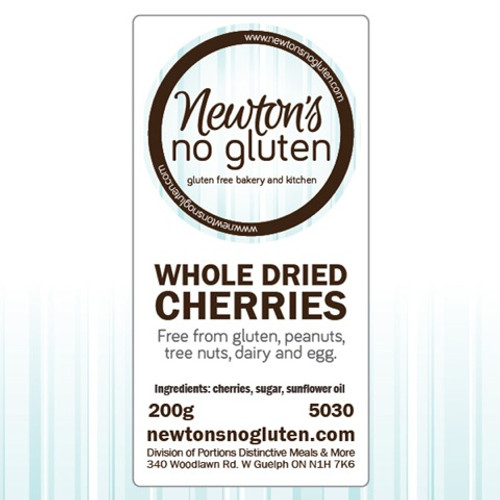 Newton's No Gluten Whole Dried Cherries