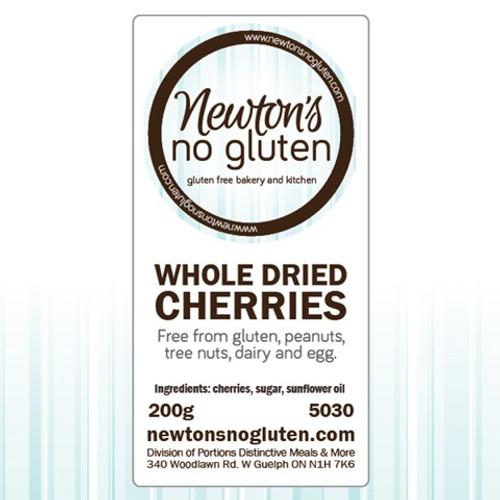 Newton's No Gluten Whole Dried Cherries