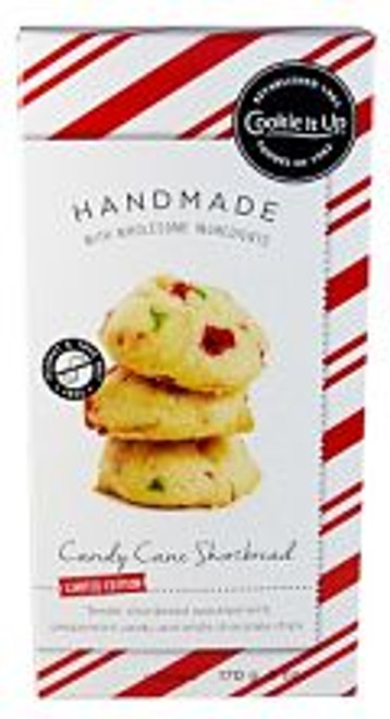Cookie It Up Candy Cane Shortbread Cookies - Limited Edition