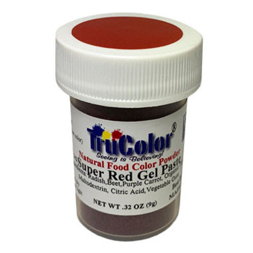 TruColor Natural Food Colouring - Super Red - NEW LARGER SIZE