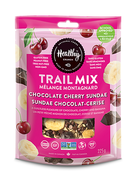 Chocolate Cherry Sundae Trail Mix