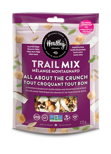 All About the Crunch Trail Mix