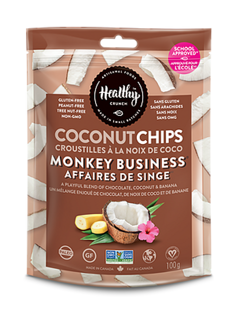 Coconut Chips - Monkey Business