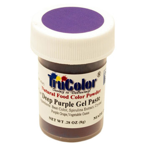 TruColor Natural Food Colouring - Deep Purple - NEW LARGER SIZE