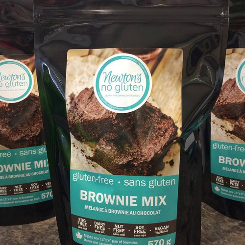 Newton's No Gluten Brownie Mix