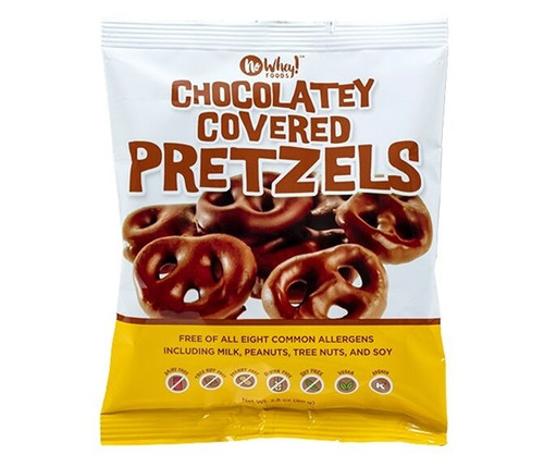 No Whey Chocolatey Covered Pretzels