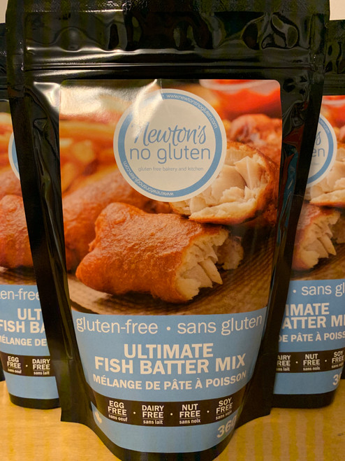Newton's No Gluten Fish Batter Mix