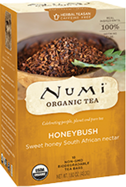 Numi Organic Bagged Tea - Honeybush