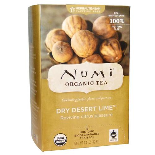 Numi Organic Bagged Tea - Dry Desert Lime