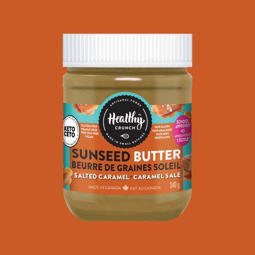 Healthy Crunch Salted Caramel Seed Butter