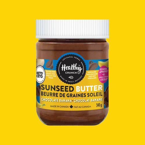 Healthy Crunch Chocolate Banana Seed Butter - FINAL SALE