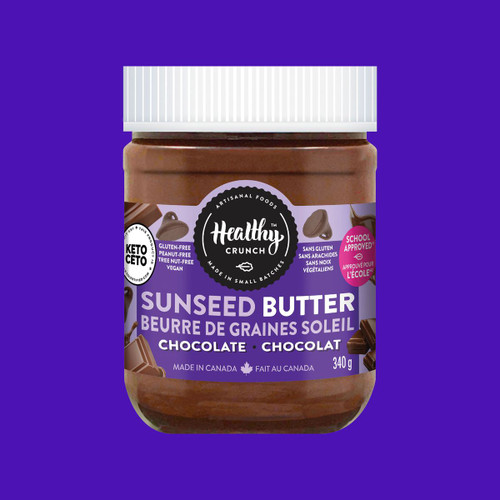 Healthy Crunch Chocolate Seed Butter