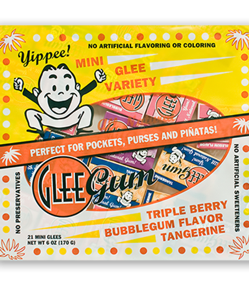 Glee Gum Mini Variety Pack