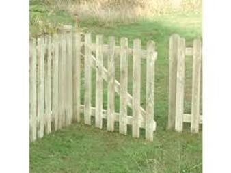 3x3 Picket Gate