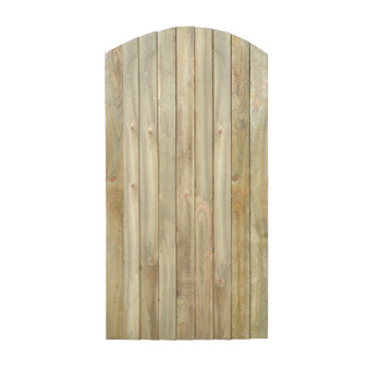 6x3 Featheredge Gate Domed