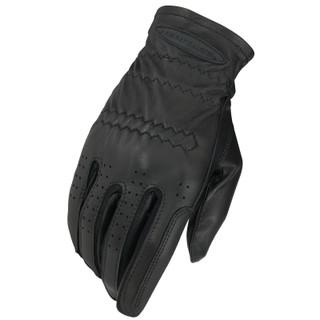 Heritage Gloves Adult Pro-Fit Leather Gloves - Black