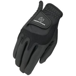 Heritage Gloves Adult Elite Show Glove in Black