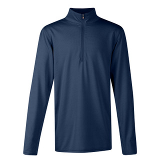 Kerrits Kids Ice Fil Lite Long Sleeve Riding Shirt - Navy