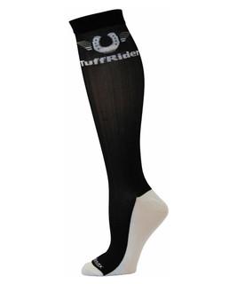 TuffRider Coolmax™ Boot Socks - Black