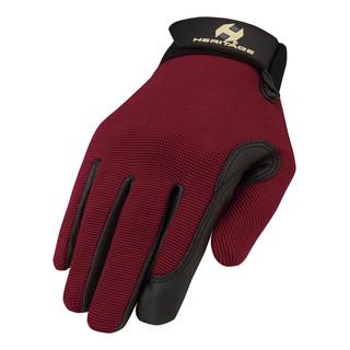 Heritage Performance Gloves / Dark Red