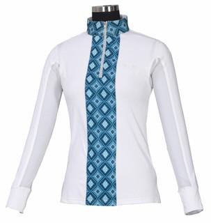 TuffRider Women's Artemis EquiCool Riding Sport Shirt - Front