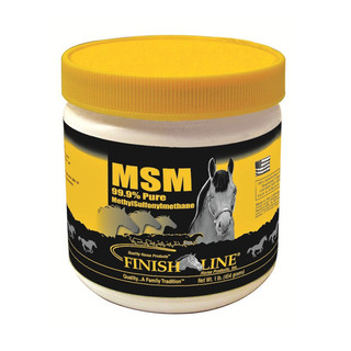 Finish Line Horse Products 99.9% Pure MSM Powder - 1 lb