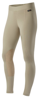 Kerrits Women's Flow Rise Performance Tights in Tan
