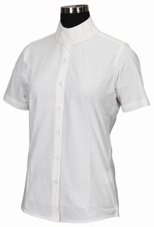 TuffRider Children's Starter Short Sleeve Show Shirt - White