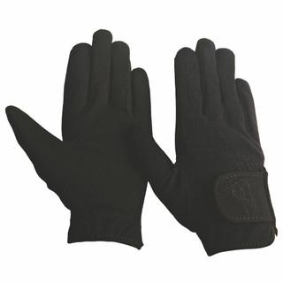 TuffRider Children's Performance Riding Gloves - Black