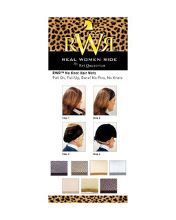 RWR No Knot Hair Net Set