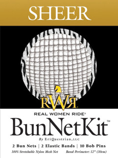 RWR Ultra Sheer Bun Net Kit