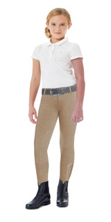 Ovation Child's AeroWick Silicone Knee Patch Tight - Beige
