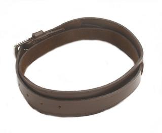 Ovation Brown Leather Garter Strap - 467301